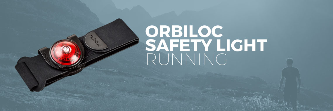 Orbiloc Run Dual Safety Light